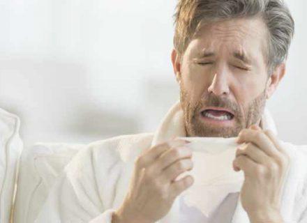 Sloga ir sinusitas:purškikliai ir infekcijos plitimo keliai
