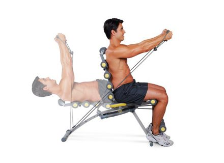 Sportas namuose. Kokį treniruoklį naudoti?