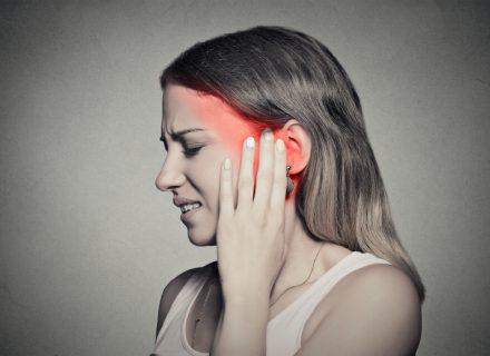 Vidurinės ausies uždegimas: iškylančios problemos