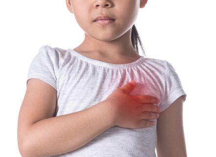 Krūtinės skausmas pediatrijoje