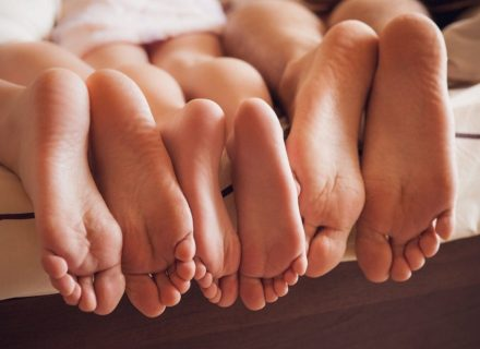 3 žingsniai sveikų ir dailių pėdų link